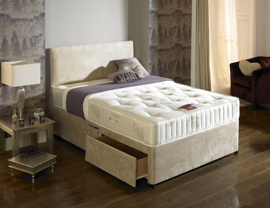 Superior orthopaedic divan bed for Orthopedic divan beds