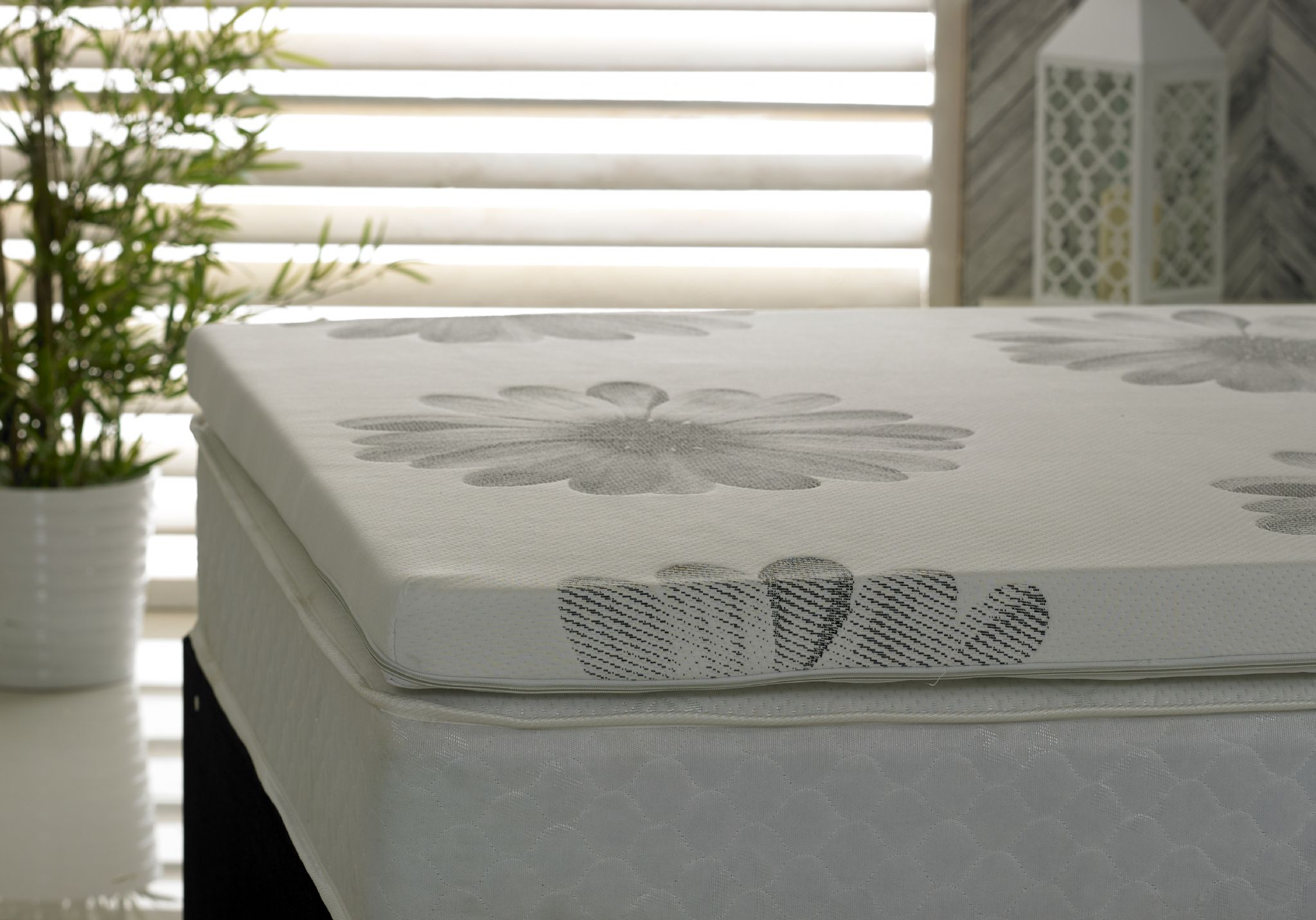 Coolblue Mattress Topper With Luxury Cover