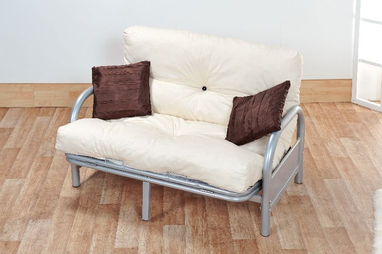 Awe Inspiring Mexico Double 4Ft6 Tri Fold Silver Futon Sofa Bed Frame Ncnpc Chair Design For Home Ncnpcorg