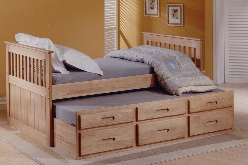 Details About White 3 Piece Storage Drawers Twin Bed Box: Single 3FT White Or Wax Captain S Cabin Bed With Under Bed