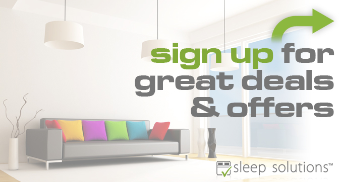 Newsletter signup for great deals and offers